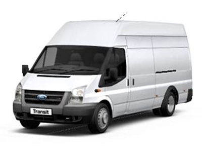 Large Long Wheel Based Van Hire Rental Edinburgh Lothians Scotland